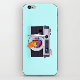 WASHING CAMERA iPhone Skin