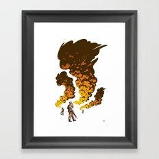 First Gulf Framed Art Print