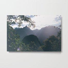 Incan Trail Metal Print