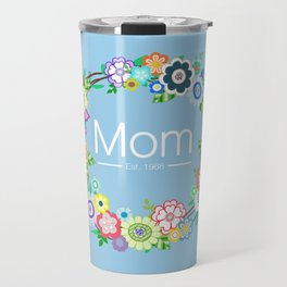 Mom - Est. 1968 Travel Mug