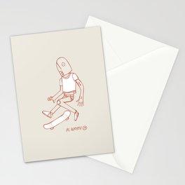 Fish Flip Stationery Cards