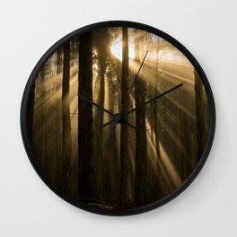 Polipoli Evening Light Wall Clock