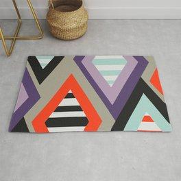 Retro geometric decoration Rug