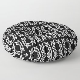 Shadowed Form Floor Pillow