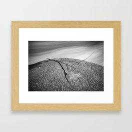 In Peril Framed Art Print