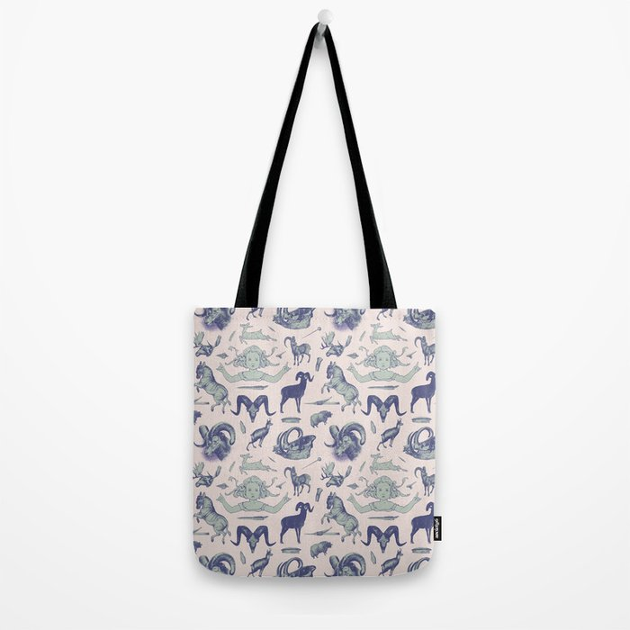 Girls just wanna throw horns 1 Tote Bag