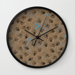 mud Wall Clock