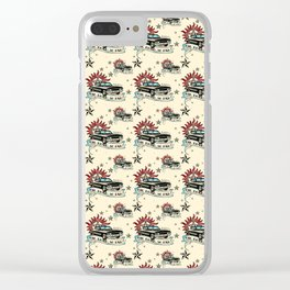 The Road So Far Vintage Clear iPhone Case