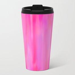 Pink Hues Metal Travel Mug