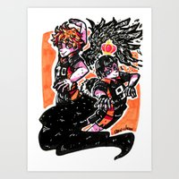 haikyuu Art Prints featuring Haikyuu!! by Agui-chan