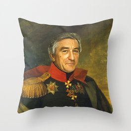 Robert De Niro - replaceface Throw Pillow