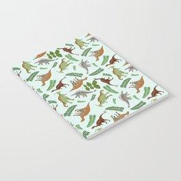 Dinosaurs & Leaves Notebook