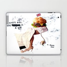 Burgery is a Sin Laptop & iPad Skin