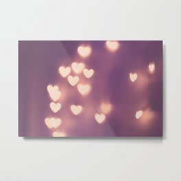Your Love is Electrifying Metal Print