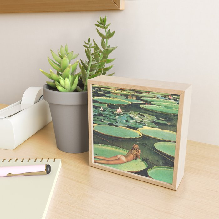 LILY POND LANE Framed Mini Art Print