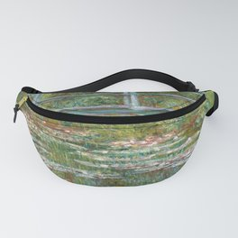 "Claude Monet ""Bridge over a Pond of Water Lilies"" Fanny Pack"