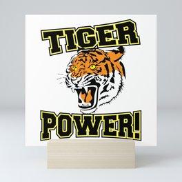 Tiger Power Mini Art Print