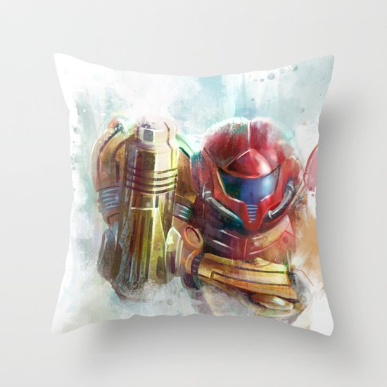 at last the galaxy is at peace  Throw Pillow