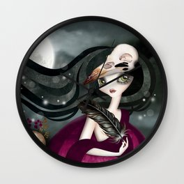 The Witching Hour Wall Clock