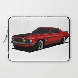 Mustang Boss Red Laptop Sleeve