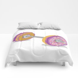 Donut Work-Out Comforters