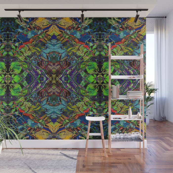 Paint Mandala 003 Wall Mural By Rcheuvrontcreations
