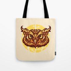 Head owl Tote Bag