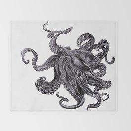 Sea Monsta Throw Blanket