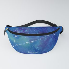 Constellation Pisces Fanny Pack
