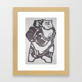 B.A.T.H.B. Framed Art Print
