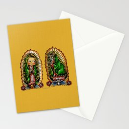 Kewpie and Cat Guadalupanos Stationery Cards
