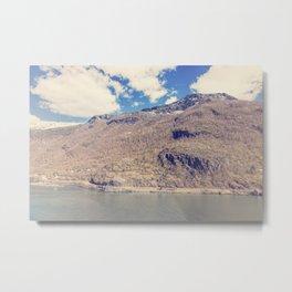 Sognefjord IV Metal Print