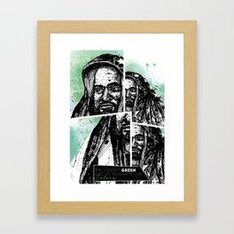 Ghostface Killah Framed Art Print