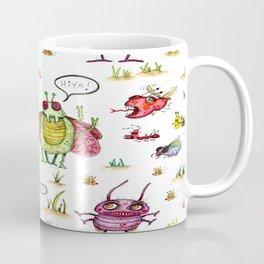 whimsical bug watercolor Coffee Mug