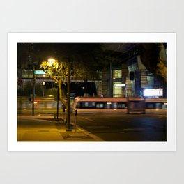 Night Motion Art Print