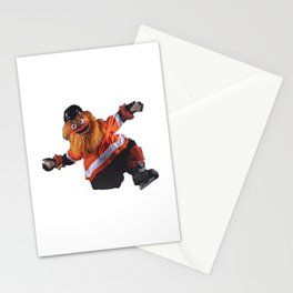 Gritty Flyers Mascot Stationery Cards