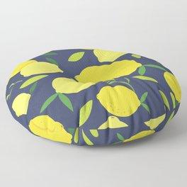 Freshly Picked Lemon Floor Pillow