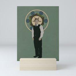 Handsome Doctor Mini Art Print