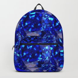 BLUE SAPPHIRES GEM BIRTHSTONE Backpack