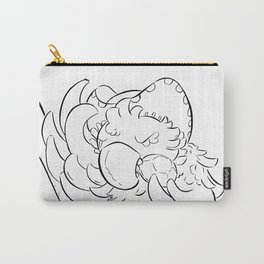 Pirate Parrot - ink Carry-All Pouch
