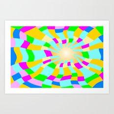 Feel good energy Art Print