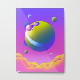 King Kai's Planet Metal Print
