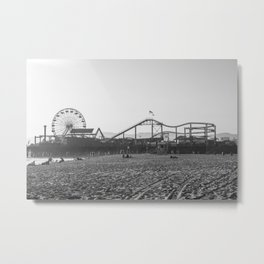 Pacific Park Santa Monica Metal Print
