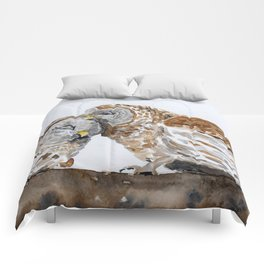 Owl always love you. Comforters