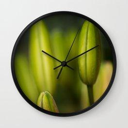 the healing Wall Clock