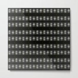 Lights Camera Optical Illusions Metal Print