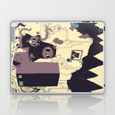 old discovery Laptop & iPad Skin
