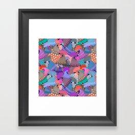 State Fair Poultry Barn Framed Art Print
