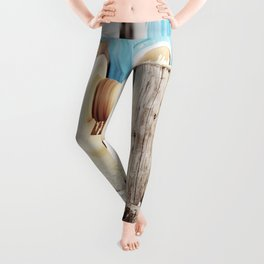 The artisan and the lathe Leggings