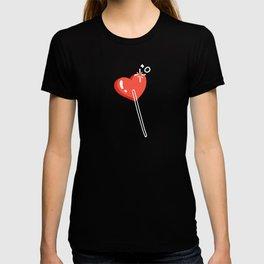 Heart Lollipops – Charcoal T-shirt